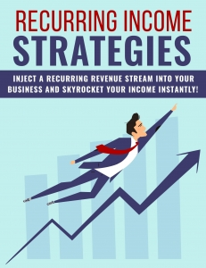 Recurring Income Strategies ebook with Private Label Rights