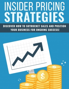 Insider Pricing Strategies ebook with