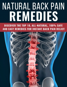Natural Back Pain Remedies ebook with Private Label Rights