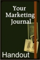 Your Marketing Journal Teleseminar Handout eBook with private label rights