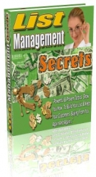 List Management Secrets eBook with Resell Rights