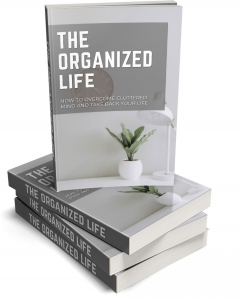 The Organized Life eBook with Master Resale Rights