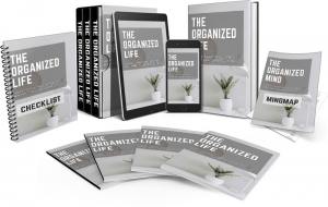 The Organized Life Video Upgrade Video with Master Resale Rights