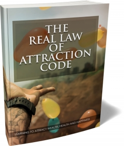 The Real Law Of Attraction Code ebook with Master Resale Rights