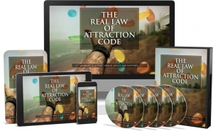 The Real Law Of Attraction Code Video Upgrade Video with Master Resale Rights