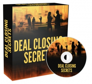 Deal Closing Secrets video with Private Label Rights