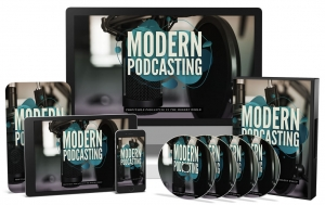 Modern Podcasting Video Upgrade video with Master Resale Rights