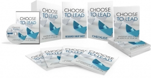 Choose To Lead Video Upgrade Video with Master Resale Rights