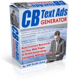 CB Text Ads Generator Software with Resell Rights