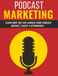 Podcast Marketing ebook with Private Label Rights