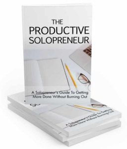 The Productive Solopreneur ebook with Master Resale Rights