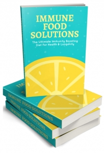 Immune Food Solutions ebook with Master Resale Rights