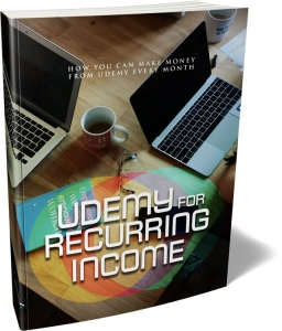 Udemy For Reccuring Income ebook with Master Resale Rights