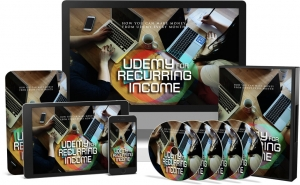 Udemy For Reccuring Income Video Upgrade Video with Master Resale Rights