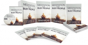 Meditation For Busy People Video Upgrade video with Master Resale Rights