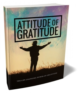 Attitude of Gratitude ebook with Master Resale Rights