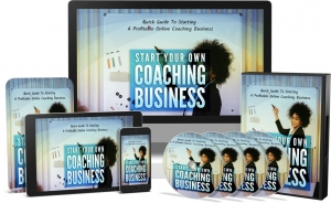 Start Your Own Coaching Business Video Upgrade video with Master Resale Rights