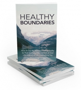 Healthy Boundaries ebook with Master Resale Rights