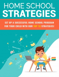 Home School Strategies ebook with Private Label Rights