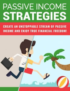 Passive Income Strategies ebook with Private Label Rights