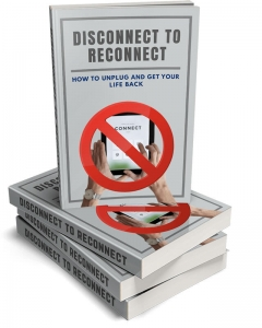 Disconnect To Reconnect ebook with Master Resale Rights
