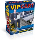 VIP Cart - The Search Engine Friendly Shopping Cart! Software with Resell Rights