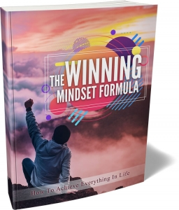 The Winning Mindset Formula  with Master Resale Rights