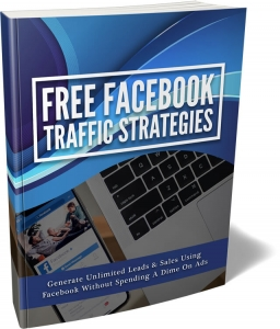 Free Facebook Traffic Strategies ebook with Master Resale Rights