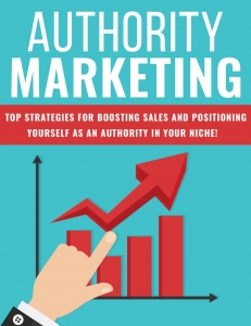 Authority Marketing ebook with Private Label Rights