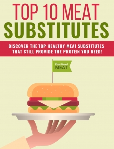 Meat Substitutes  with Private Label Rights