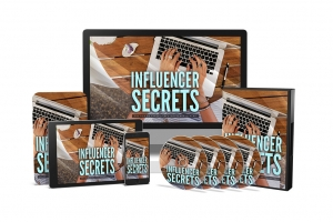 Influencer Secrets Video Upgrade Video with Master Resale Rights