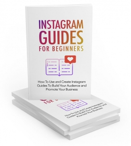 Instagram Guides For Beginners  with Master Resale Rights