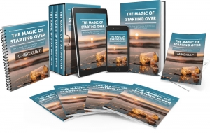 The Magic Of Starting Over Video Upgrade Video with Master Resale Rights