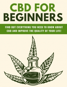 CBD For Beginners ebook with Private Label Rights