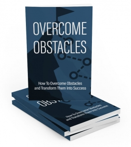 Overcome Obstacles eBook with Master Resale Rights