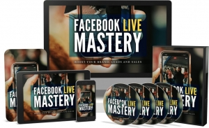 Facebook Live Mastery Video Upgrade video with Master Resale Rights