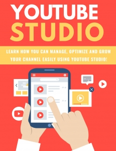 Youtube Studio ebook with Private Label Rights