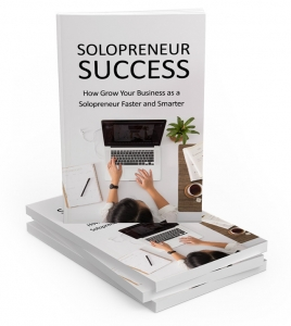 Solopreneur Success ebook with Master Resale Rights