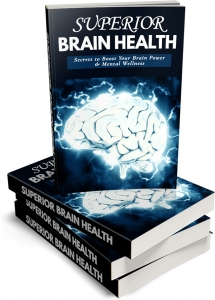 Superior Brain Health ebook with Master Resale Rights