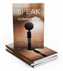 Speak With Confidence ebook with Master Resale Rights