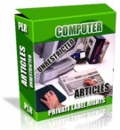 Private Label Article Pack : Computer Articles eBook with Private Label Rights