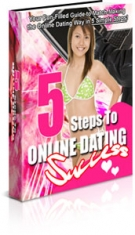 5 Steps To Online Dating Success eBook with Private Label Rights