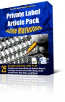 Private Label Article Pack : Ezine Marketing Articles eBook with Private Label Rights