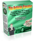 Tip Article Creator Software with Master Resale Rights