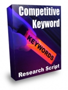 Competitive Keyword Research Script Software with Resell Rights