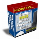 How To Build HUGE Niche Keyword Lists Video with Personal Use Rights
