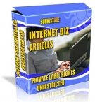Private Label Article Pack : Internet Biz Articles eBook with Private Label Rights