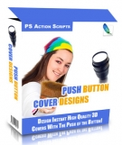 Push Button Cover Designs Software with Master Resale Rights