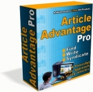 Article Advantage Pro Software with Resell Rights