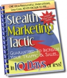 Stealth Marketing Tactic eBook with Master Resale Rights